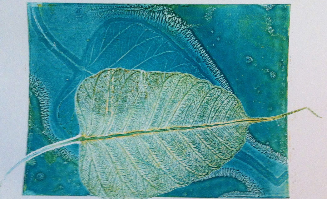 Successful leaf prints