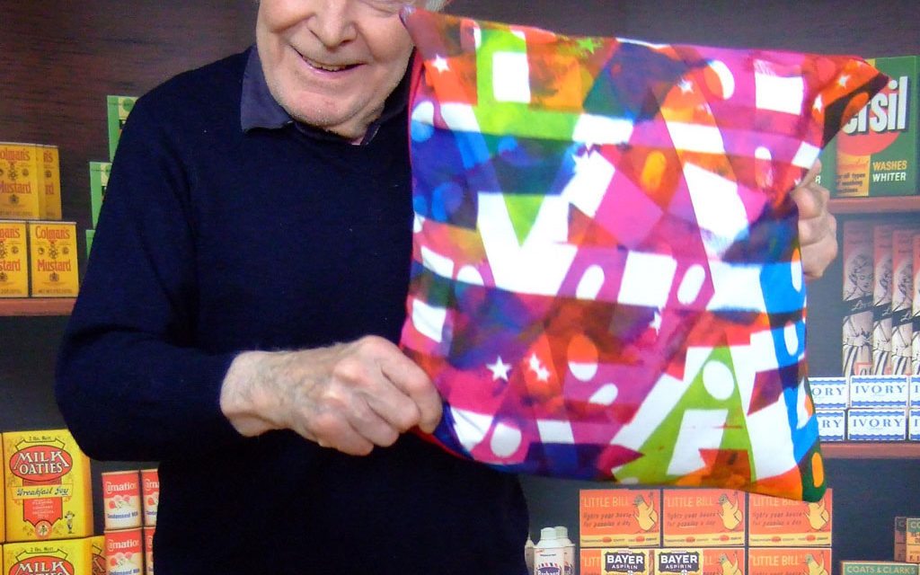 Art in Care Homes; cushions