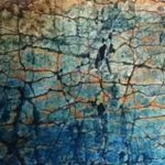 Create crackle texture collagraph plates