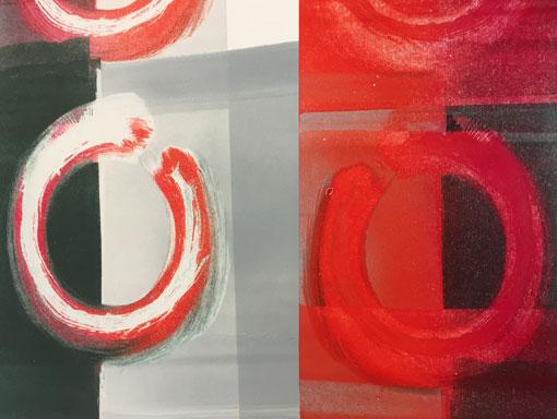 viscosity mono print