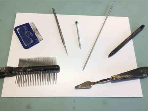 tools for marking foam board