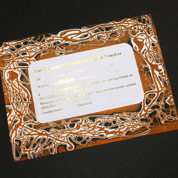 golden voucher card