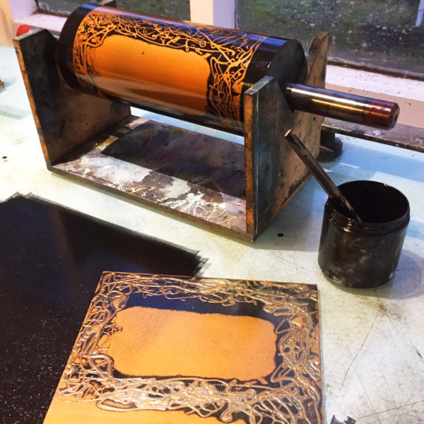 voucher printing in progress