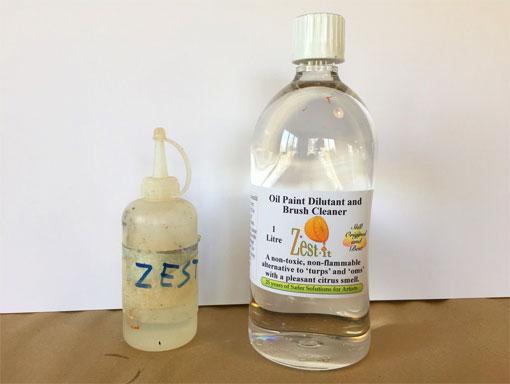bottle of zest it