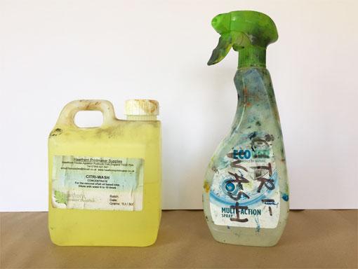 container of citriwash