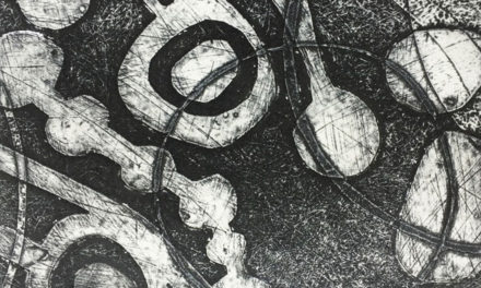 Improve your collagraph prints with white ink